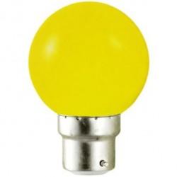 Ampoule LED B22 1W (bulb) Jaune