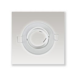 Support plafond orientable (diam 86mm)
