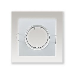 Support plafond orientable (84x84mm)