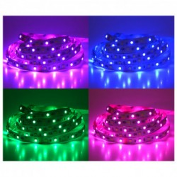 Bandeau LED IP20 (7.2W/m) couleurs
