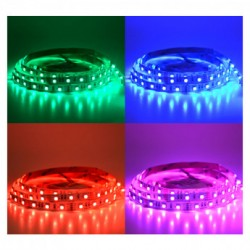 Bandeau LED IP20 (14.4W/m) couleurs