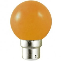 Ampoule LED B22 1W (bulb) Orange