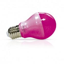 Ampoule LED E27 9W (bulb) rose