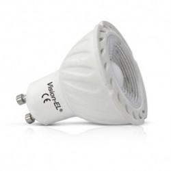 Ampoule LED COB GU10 4W (spot) blanc chaud