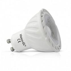 Ampoule LED COB GU10 5W dimmable (spot) verte