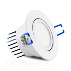 Spot LED COB orientable 7W blanc chaud