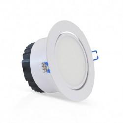 Spot LED COB orientable 12W blanc chaud
