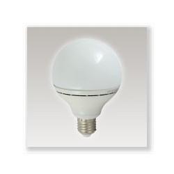 Ampoule LED E27 10W (globe) blanc chaud