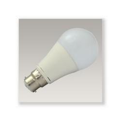 Ampoule LED COB B22 8W (bulb) blanc chaud