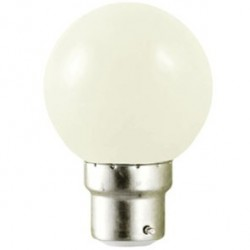 Ampoule LED B22 1W (bulb) Blanc chaud