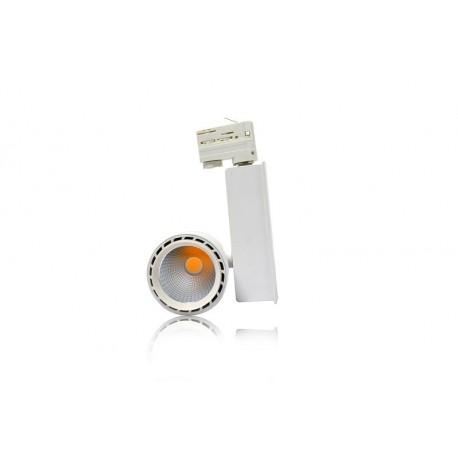 Spot LED sur rail 30W blanc neutre