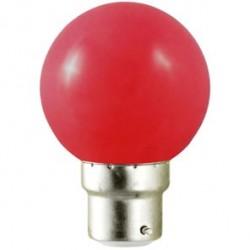 Ampoule LED B22 1W (bulb) Rouge