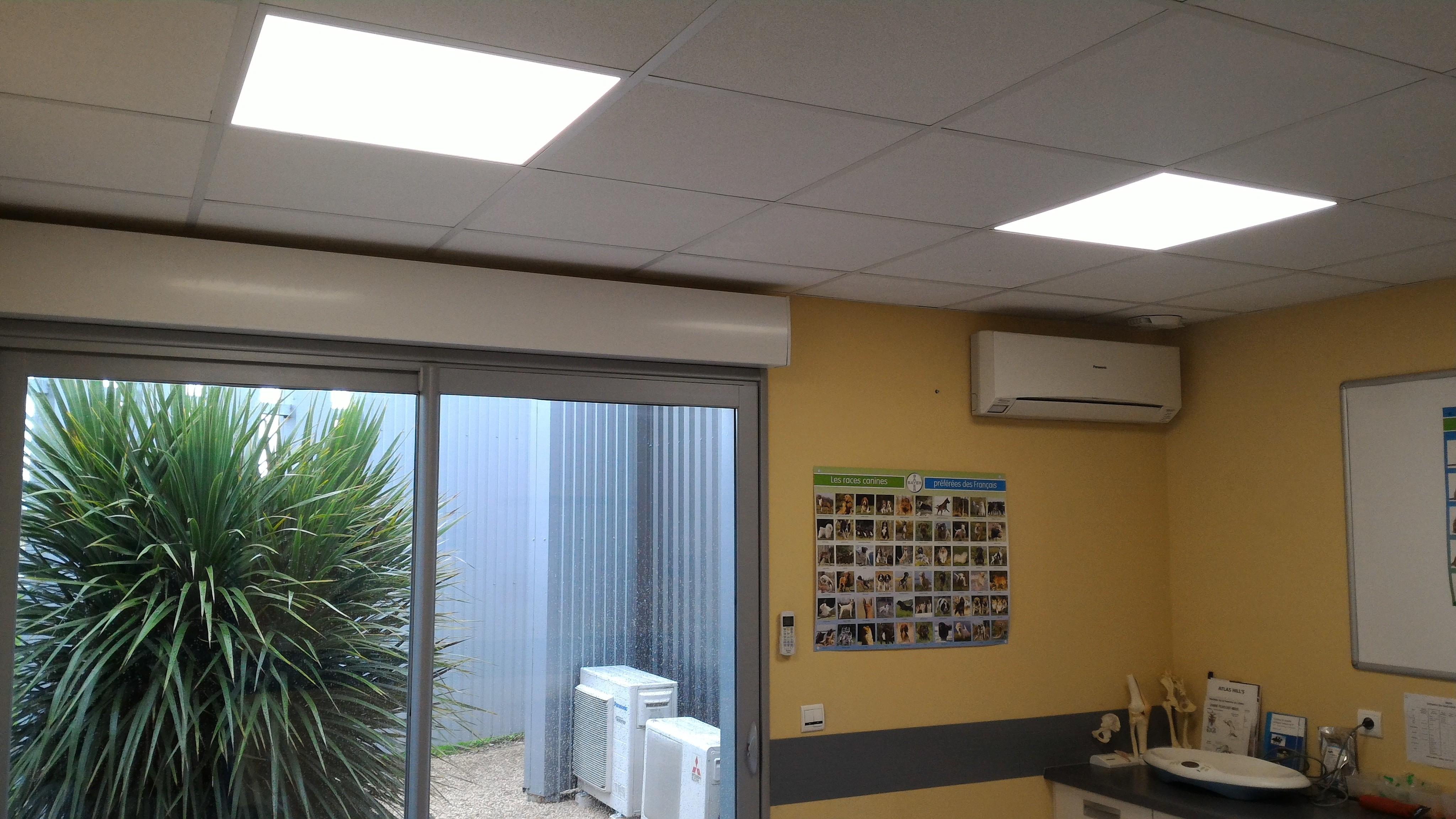 Dalle Led pour faux plafond 600*600